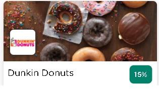 Dunkin Donuts HBL Deals