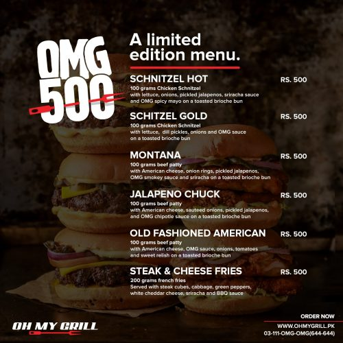o my grill deals
