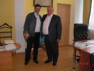 Встреча Аяцкова Д.Ф. с Менякиным И.Ю.