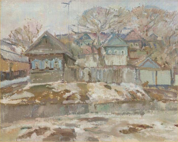 Дома-в-Затоне-на-берегу-Волги.-1997-г.