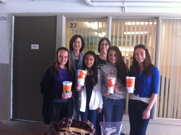 Student fundraisers