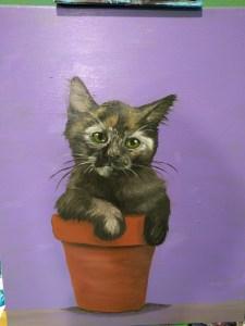 Kitten paint