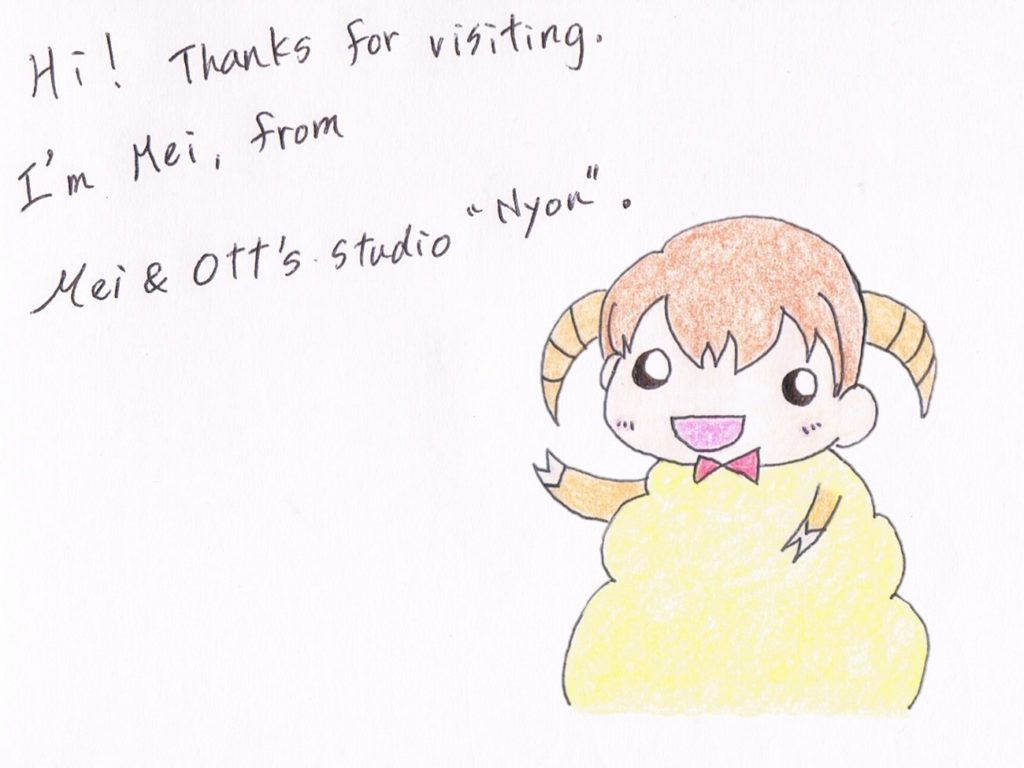 Hi! Thanks for visiting. I'm Mei, from Mei&Otto studio Nyon.