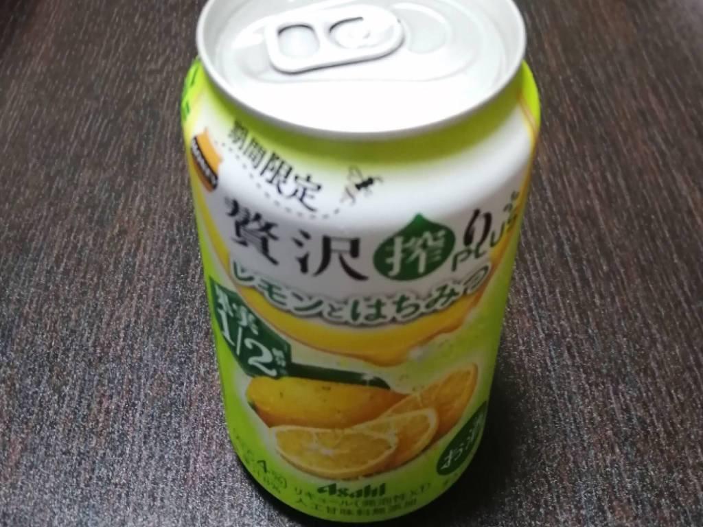 アサヒ贅沢搾りplusレモンとはちみつ
