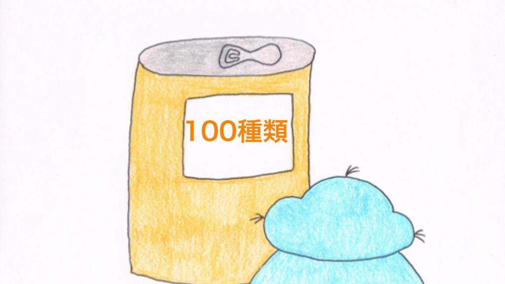 100種類のレモン缶チューハイを眺めるおっと~くん