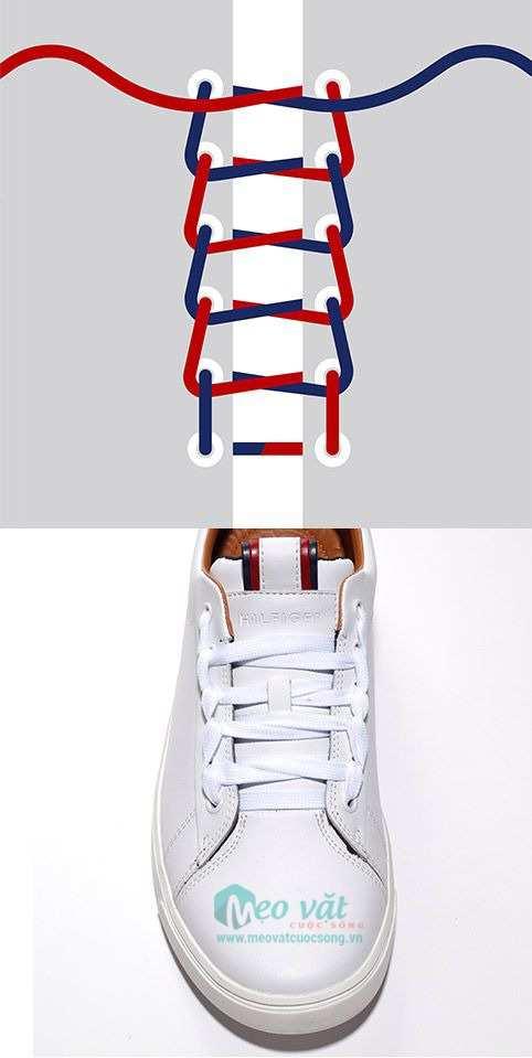 Hướng dẫn cách buộc dây giày