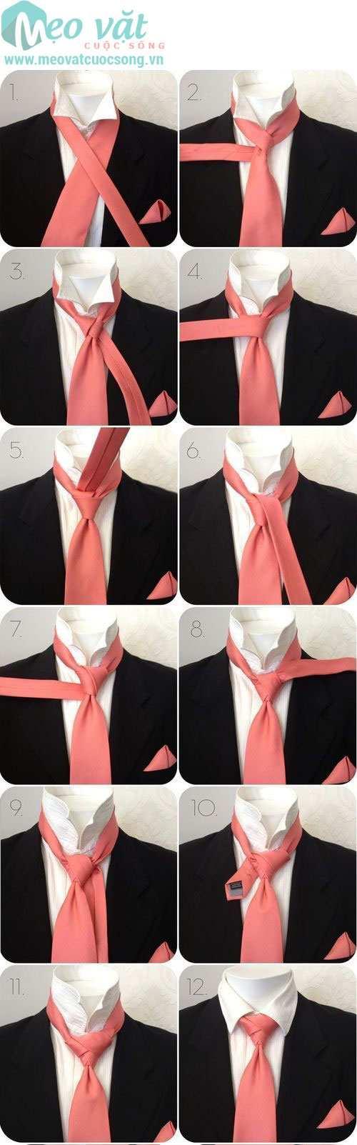 Mẹo thắt cà vạt (caravat) chuẩn đẹp