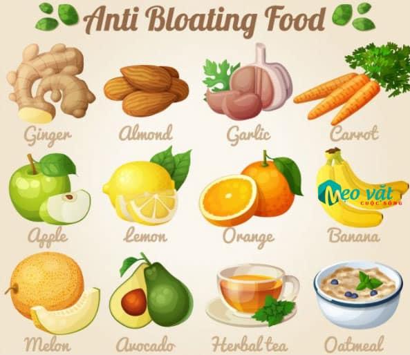 Thức ăn chữa bệnh táo bón