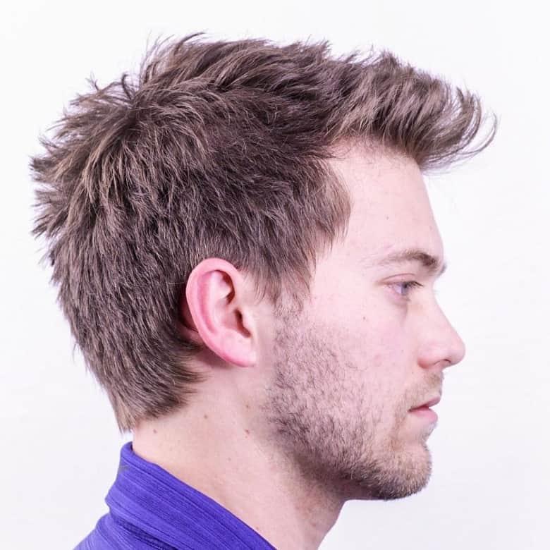 Kiểu tóc Messy Hairstyles