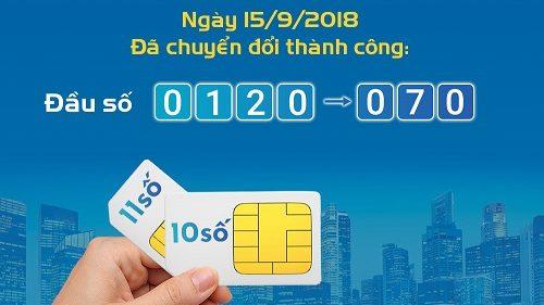 Đầu số Mobifone 0120,0121,0122,0126,0128 đổi thành đầu số mới là gì?