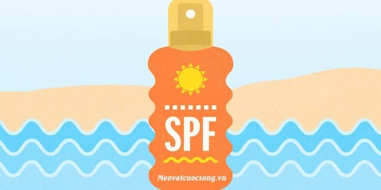 Chọn mỹ phẩm có chỉ số SPF cao