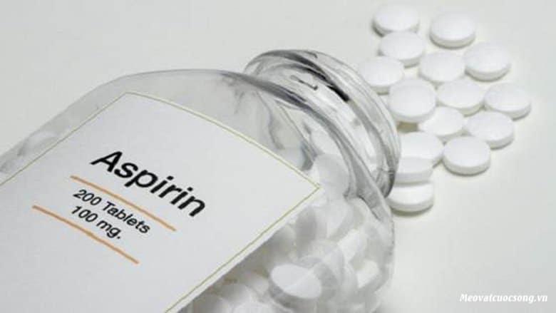 Thuốc Aspirin trị ong đốt hiệu quả