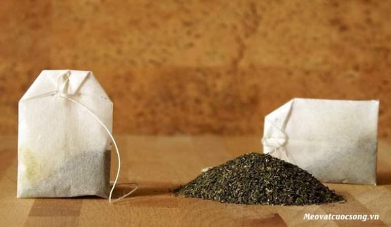Túi trà giúp đánh tan bọng mắt