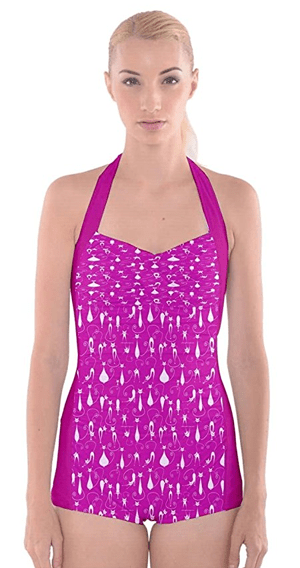 one piece cat swimsuit womens