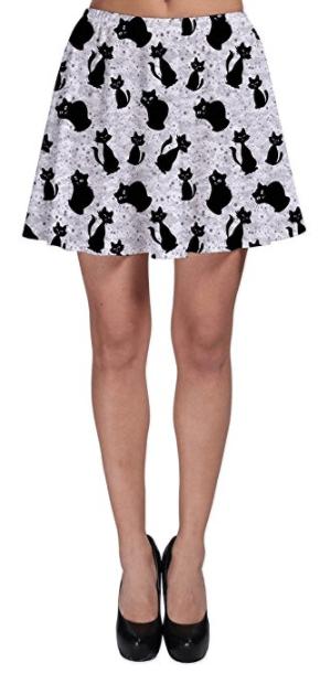 cat skirt women