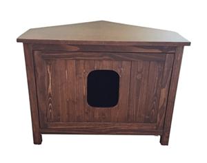 corner cat litter box furniture. Cat Hidden Litter Box Cabinet Furniture Corner