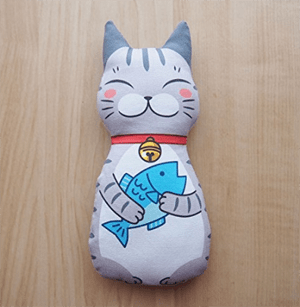 handmade cat kickers
