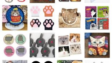 cat coasters feature