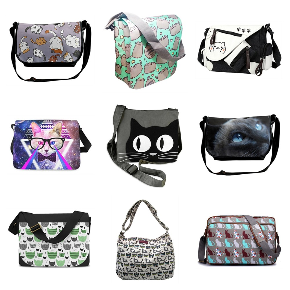 7ffb9619c760 Kitty Messenger Bags For People Who Love Cats! – Meow As Fluff