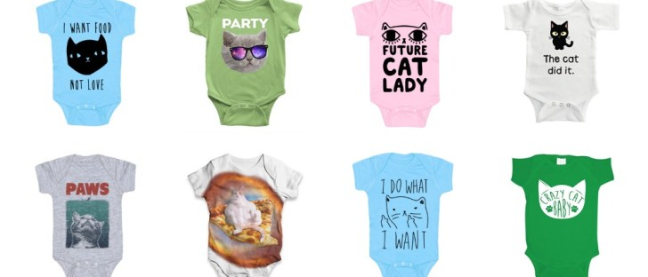 cat onesies feature baby kitty