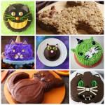 halloween cat cakes feature