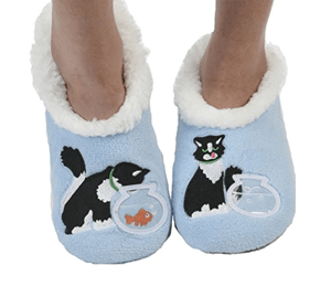 cat slippers women
