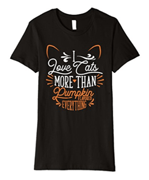 fall cat tshirts