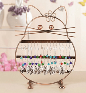 cat jewelry stands holders