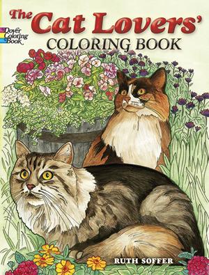 cat adult coloring books
