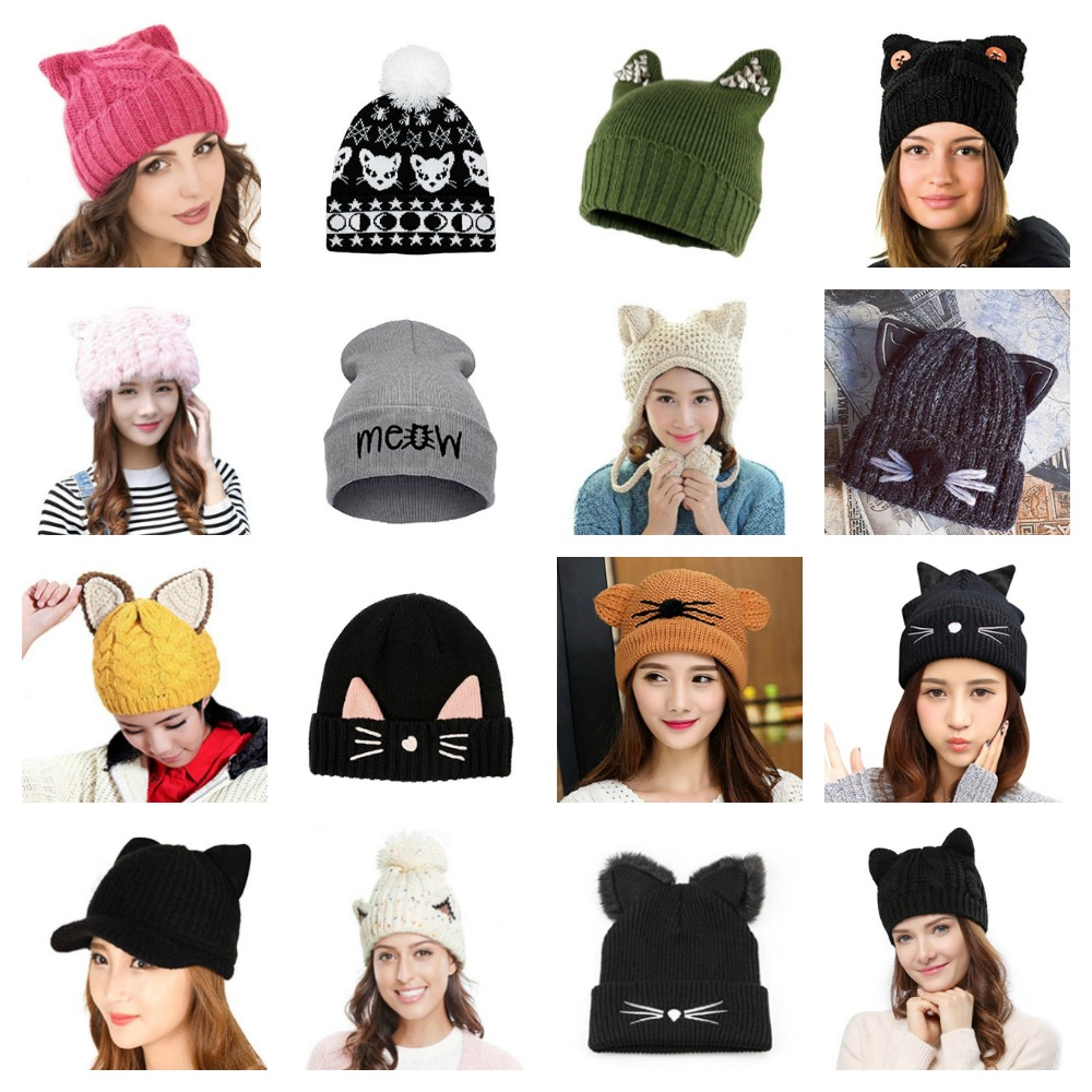 eba8ca5a285 Women s Cat Hats To Keep You Warm This Winter! – Meow As Fluff