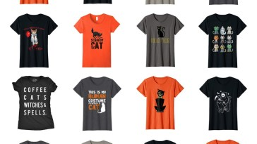 best cat halloween cat tshirts feature