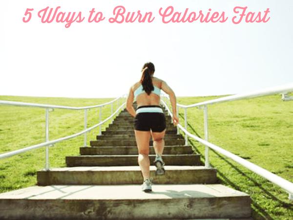 5 Ways to Burn Calories Fast - MeowMeix