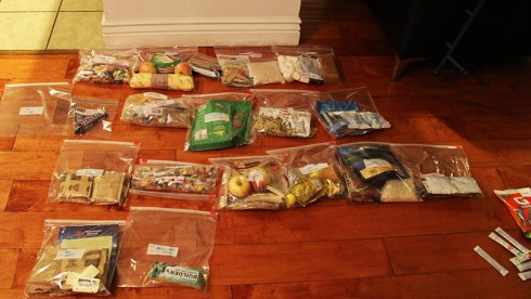 backpacking food