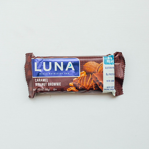 Protein bar review - Luna Bar