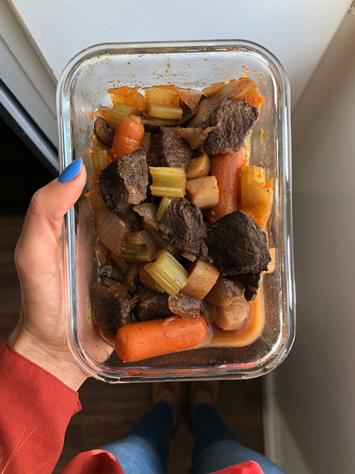 Paleo Beef Stew - Meal Prep Pic
