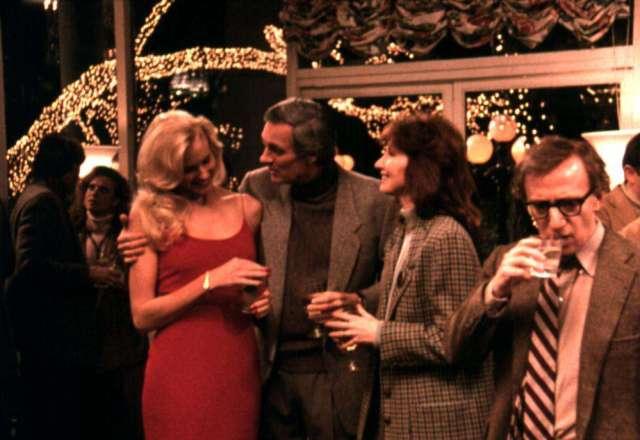 CRIMES AND MISDEMEANORS, Daryl Hannah, Alan Alda, Joanna Gleason, Woody Allen, 1989