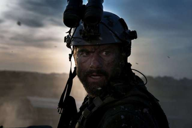 "James Badge Dale plays Tyrone ""Rone"" Woods in 13 Hours: The Secret Soldiers of Benghazi from Paramount Pictures and 3 Arts Entertainment / Bay Films in theatres January 15, 2016."