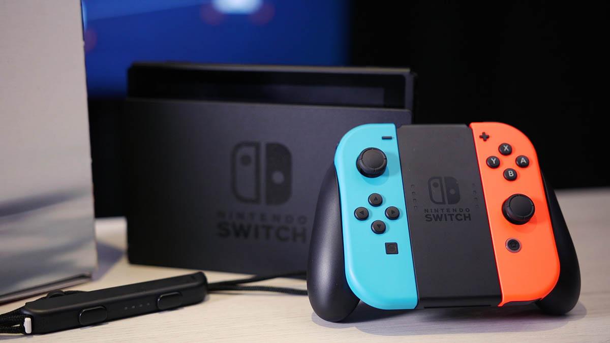 Продажи Nintendo за полгода выросли на 175% благодаря Switch