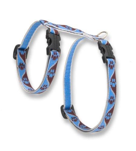 """Premium H-Style Harness - Muddy Paws, 9-14"""" Girth"""