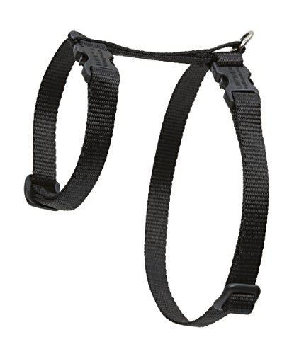 "Premium H-Style Harness - Black, 12-20"" Girth"