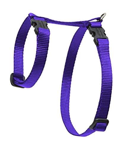 "Premium H-Style Harness - Purple, 9-14"" Girth"