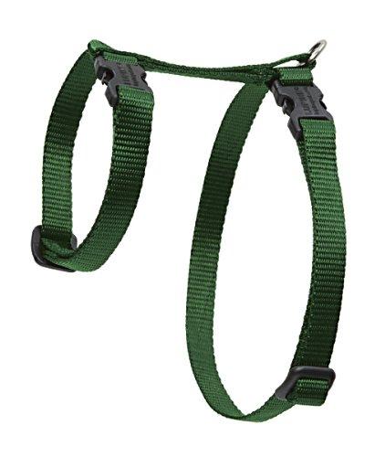 "Premium H-Style Harness - Green, 12-20"" Girth"