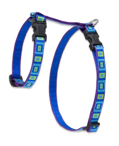 "Premium H-Style Harness - Sea Glass, 9-14"" Girth"