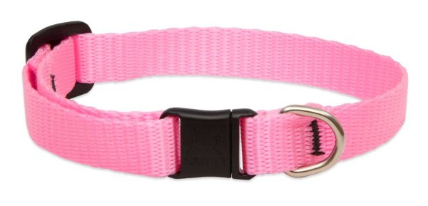 Premium Safety Collar - Pink, 8-12""