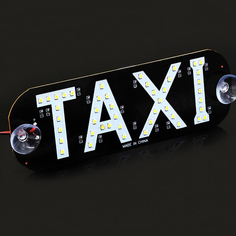 אור לוח מונית סגנון לנהג מונית עם מטען לרכב