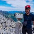 前穂高岳‐奥穂高岳テント泊縦走① 重太郎新道を登り前穂高岳の頂へ