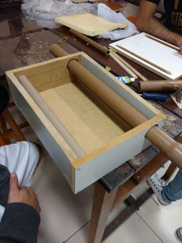 Montagem da caixa (figura1)