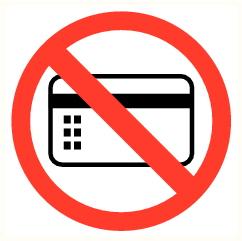 Carte électronique interdite
