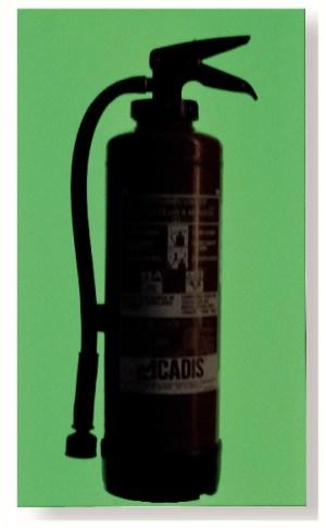 Plaque photoluminescente rigide pour marquage poignée, extincteur, plan... 600x400mm