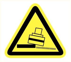 Danger basculement